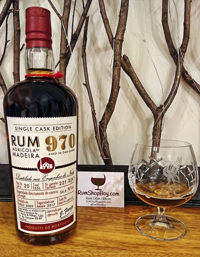 Rum Agricola Da Madeira: 970 Single Cask Edition