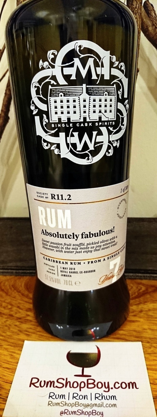 """SMWS R11.2 """"Absolutely Fabulous"""": Bottle"""