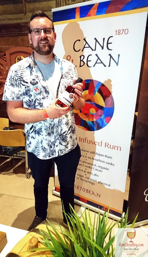 Cane and Bean 1870: Director: Andrew Laird (MCR Rum Festival 2018)