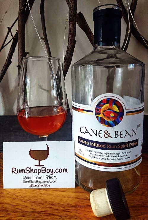 Cane and Bean 1870: Bottle and Glass
