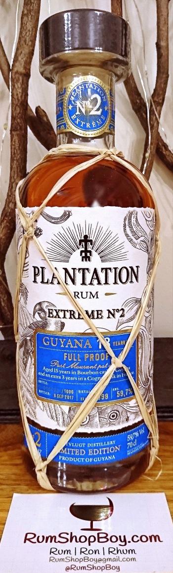 Plantation Extrême 2 Guyana 18 YO: Bottle
