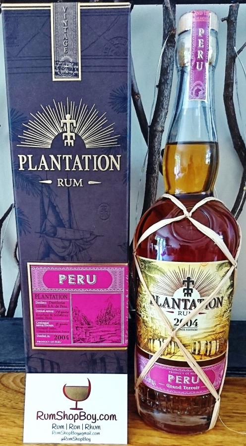 Plantation Peru 2004Rum