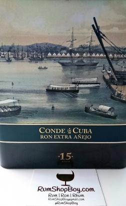 Conde de Cuba 15 Anos Rum: Tin