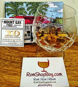 Mount Gay XO Peat Smoke Expression: Glass