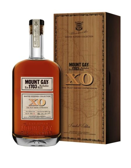 Mount Gay XO Peat Smoke Expression: Bottle and Box (Photo From Internet)