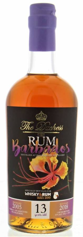 The Duchess Barbados 13yo Rum (Foursquare)