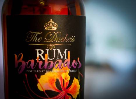The Duchess Barbados Foursquare 13yo Rum: Bottle and Label (Photo From Internet)