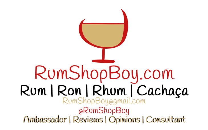 Rum  Shop Boy: Business Card (Front)