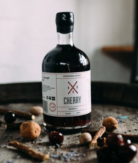 "Rum Diary Bar ""Spiced Cherry"": Bottle (Photo From Internet)"
