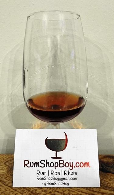 "Rum Diary Bar ""Spiced Cherry"": Glass"