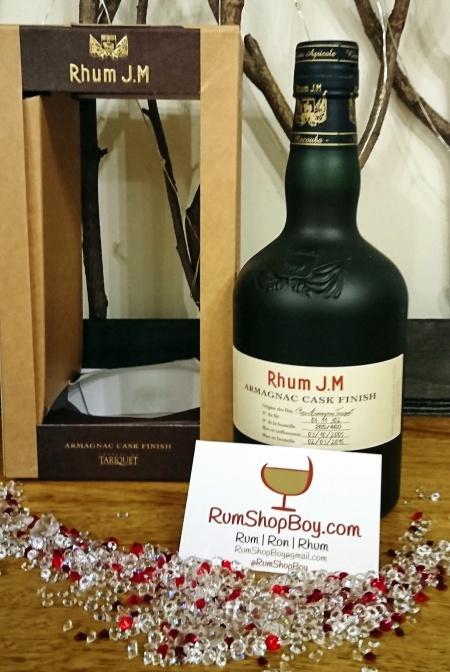 Rhum JM Armagnac Finish: Box and Bottle