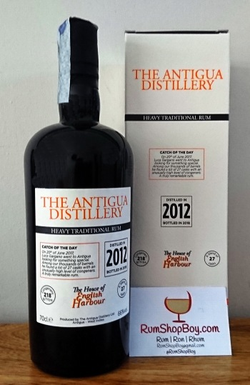 "Antigua Distillery Velier ""Heavy"" Rum: Bottle and Box"