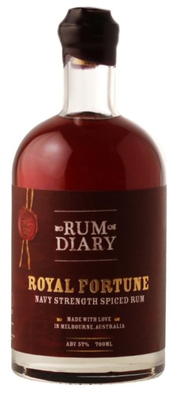"Rum Diary Bar ""Royal Fortune"": Bottle (Photo From Internet)"