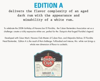 Havana Club Edicion A: Label (Photo From Internet)