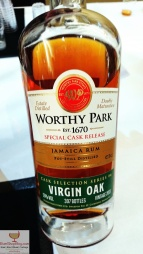 Worthy Park Cask Finish Virgin: Bottle