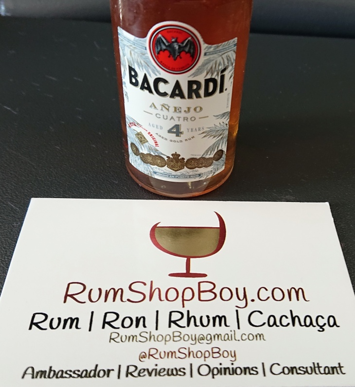 Bacardi Cuatro: Bottle