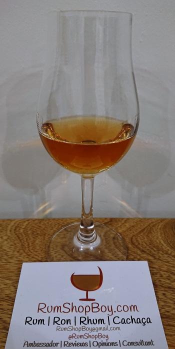 Havana Club 15yo: Glass