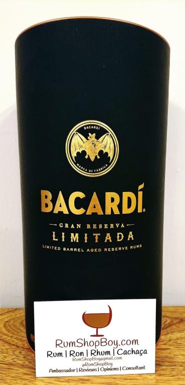 Bacardi Gran Reserva Rum: Box