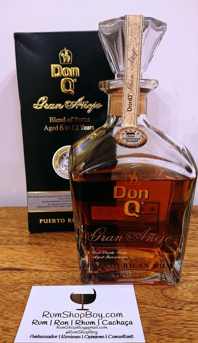Don Q: Box and Bottle
