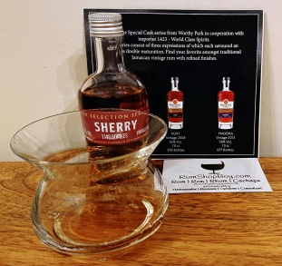 Worthy Park Cask Selection Series #3 Sherry: Glass