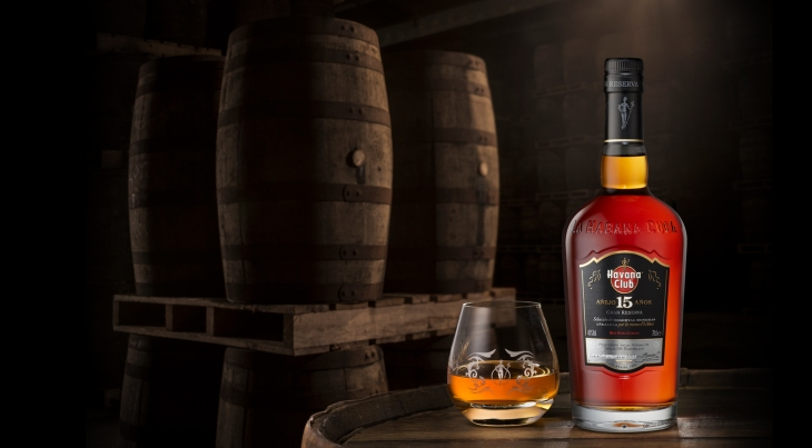 Havana Club 15yo: Bottle and Glass (Photo From Internet)