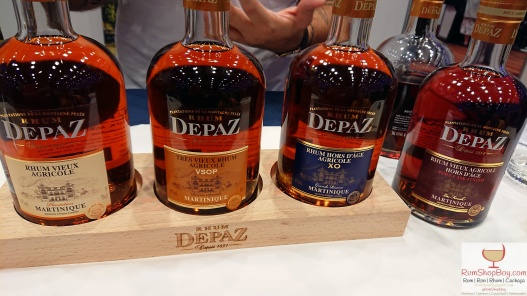 Rhum Depaz: Bottles (UK RumFest 2018)