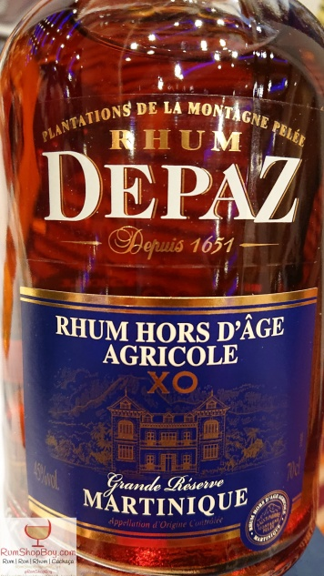 Rhum Depaz: Bottle (Front)