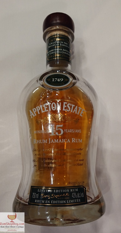 Appleton 15yo: Bottle