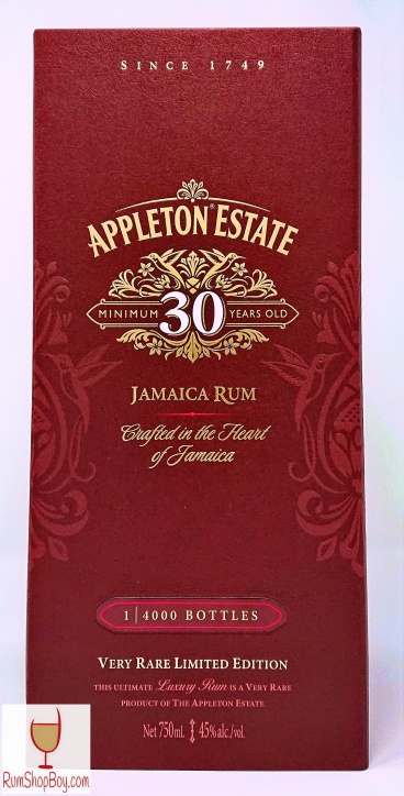 Appleton 30yo (2) Box
