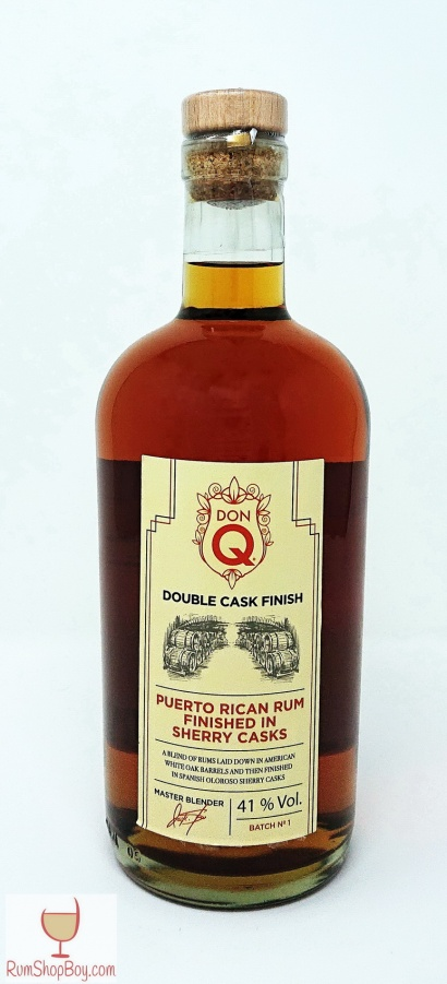 Don Q Oloroso Sherry Finish Bottle