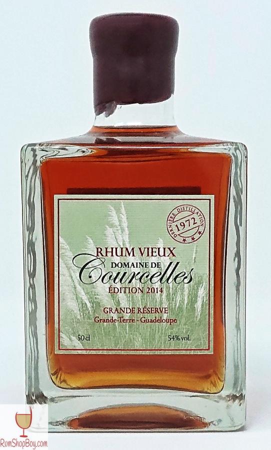 Domaine de Courcelles (1972) Bottle (Front)