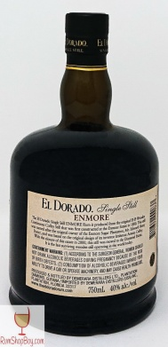 Enmore 2006 Bottle (Rear)