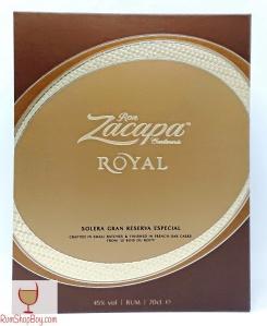 Ron Zacapa Royal Box (Front)