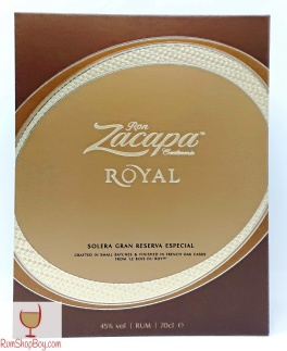 Ron Zacapa Royal Box (Front)