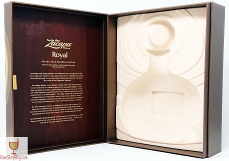 Ron Zacapa Royal Box (Inside, Open)