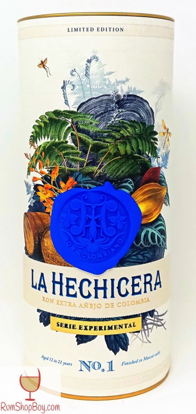 La Hechicera Serie Experimental No.1 The Muscat Experiment Box