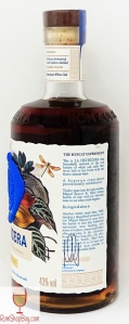 La Hechicera Serie Experimental No.1 The Muscat Experiment Bottle Side