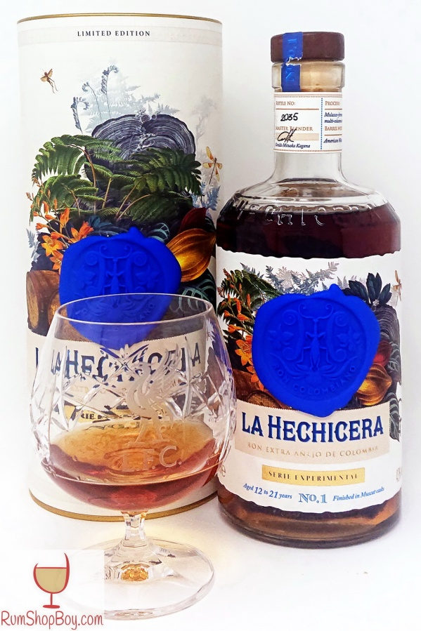 La Hechicera Serie Experimental No.1 The Muscat Experiment