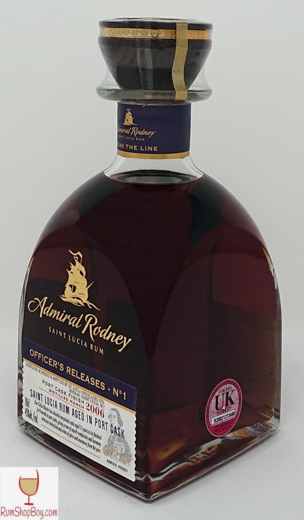 Admiral Rodney Port Cask Bottle