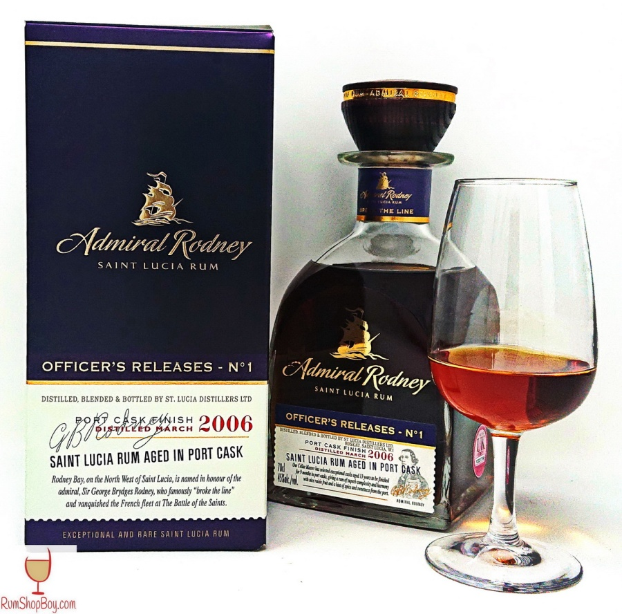 Admiral Rodney Officer's Release No.1 Port Finish