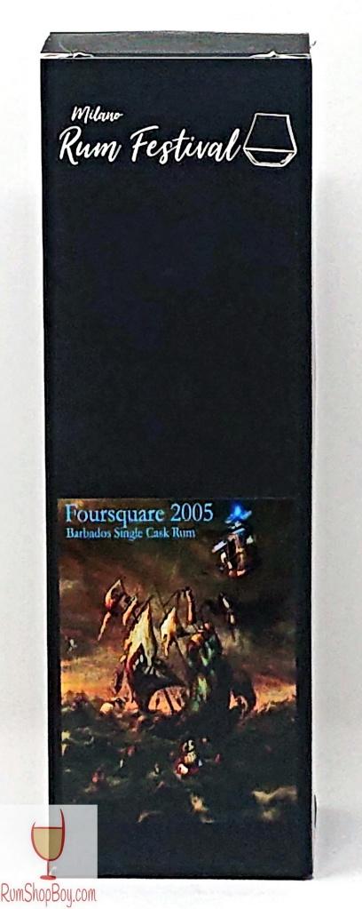 Foursquare 2005 Milano Rum Festival 12yo Box (Front)