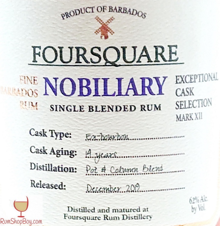 Nobiliary Front Label