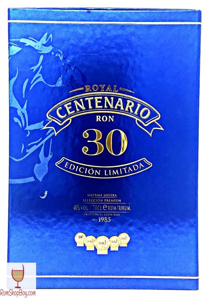 Ron Centenario Edicion Limitada 30 Box