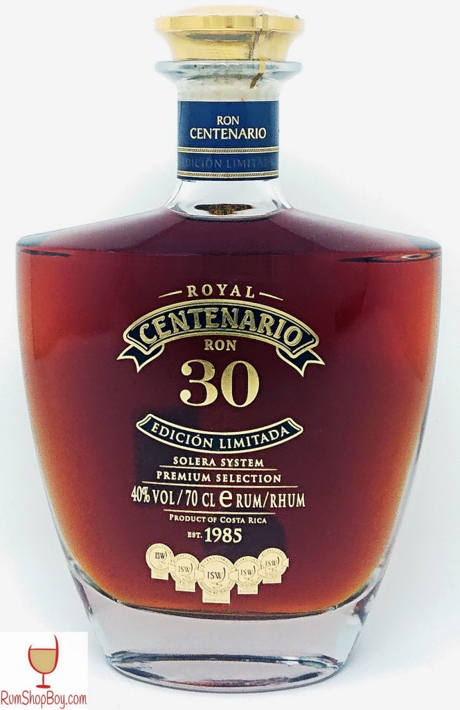 Ron Centenario Edicion Limitada 30 Bottle