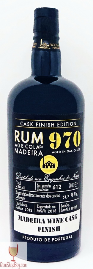 Rum 970 Madeira Cask Bottle