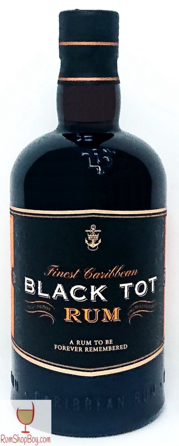 Black Tot Bottle