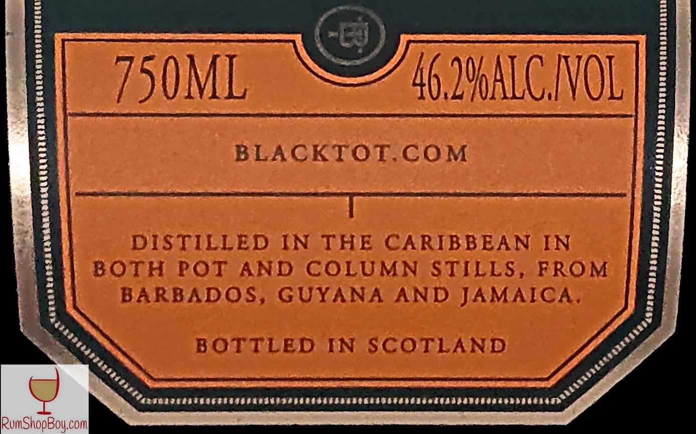 Black Tot Label