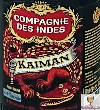 Compagnie des Indes Kaiman Label