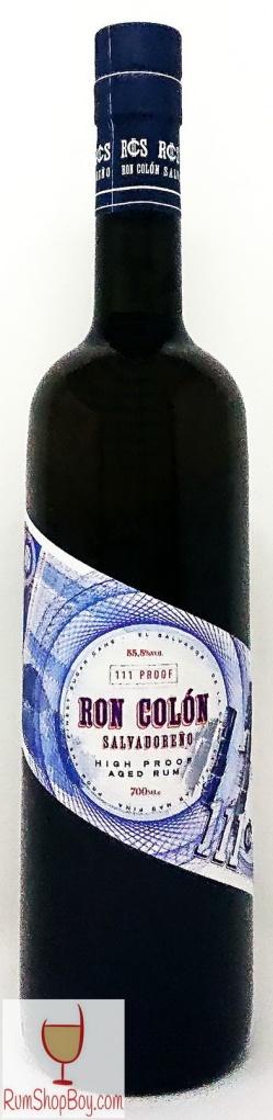 Ron Colón Salvadoreño Rum Bottle