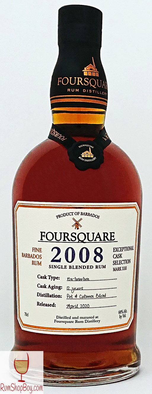Foursquare 2008 Bottle